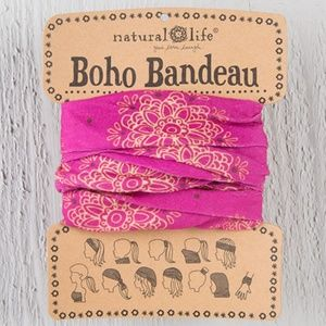 NATURAL LIFE Accessories - Boho Bandeau Top / Hair Accessory